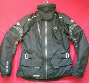 Ladies HEIN GERICKE GORETEX® TOURER GTX MOTORCYCLE JACKET UK Size 10  EU 38